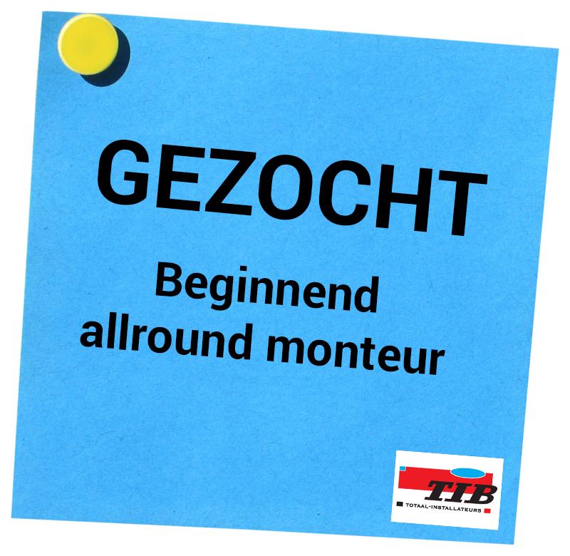Beginnend allround monteur tib.nl