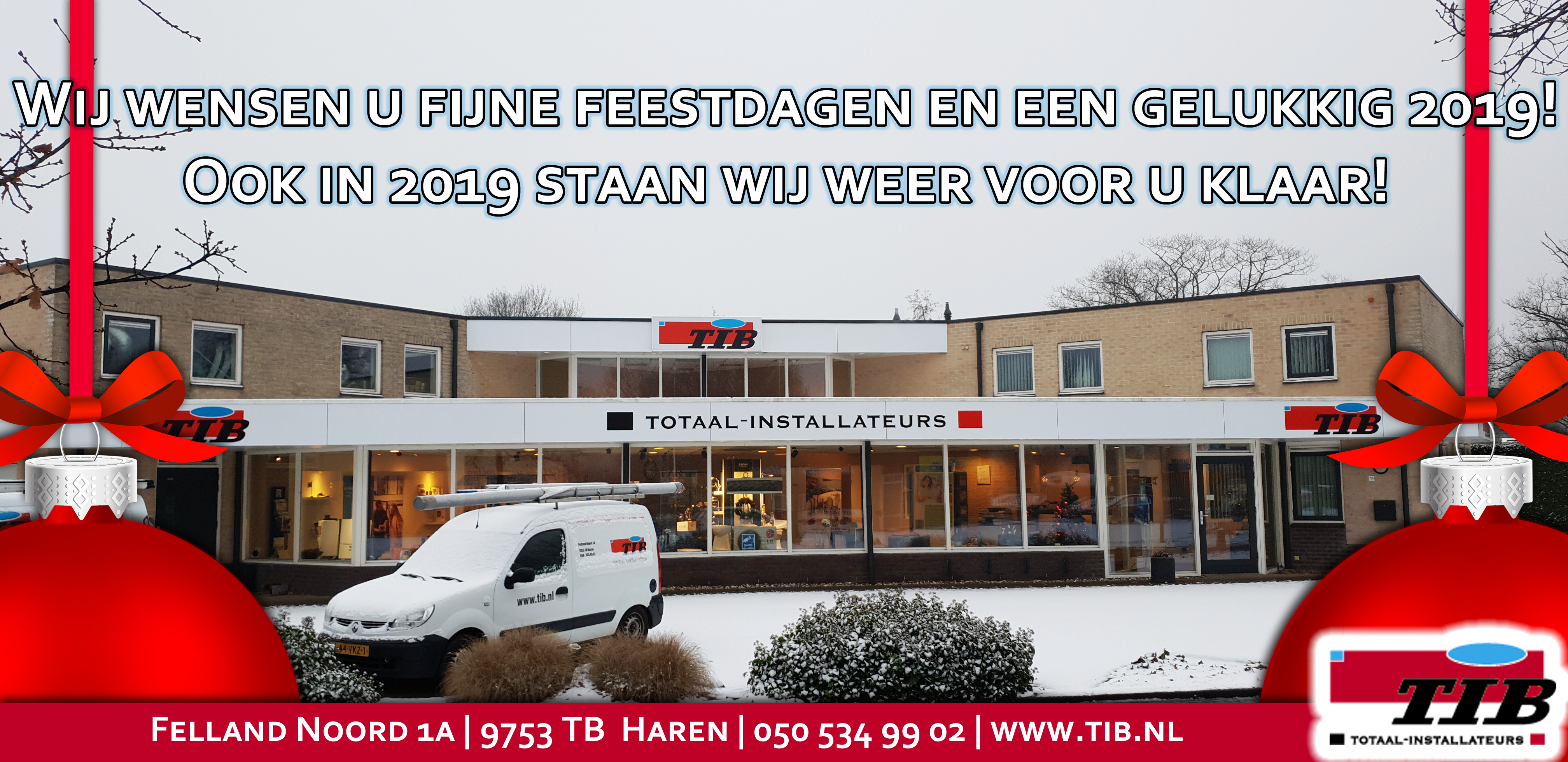 Kerstplaat TIB 2018