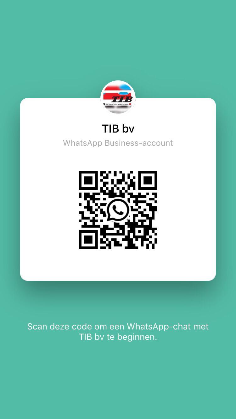 TIB WhatsApp link